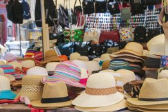 Do not forget the hat! They are available at the small square in Victoria where you can also sit down and relax with something to drink, watch the street life and maybe buy a small souvenir on the market.