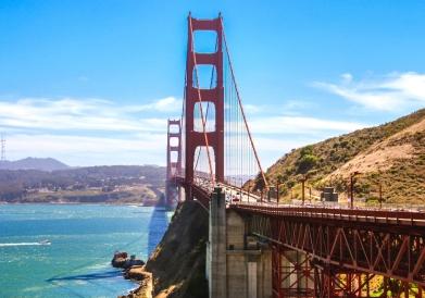 Golden Gate San Francisco.