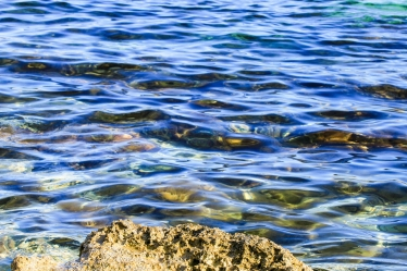 The Mediterranean around Malta has crystal clear water. It is now 18 degrees. within a couple of months 28 degrees.