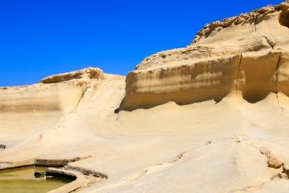 Like sand dunes.