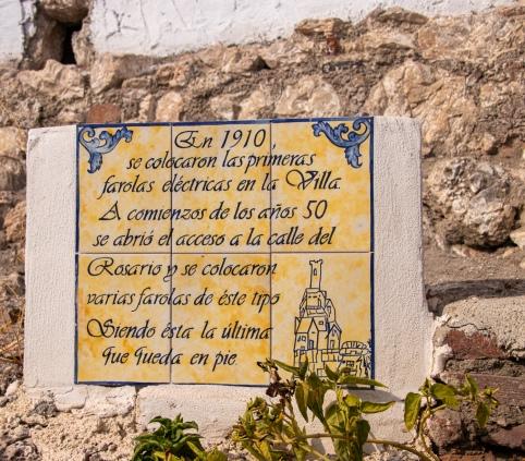 Något historiskt i Granada, Spanien.